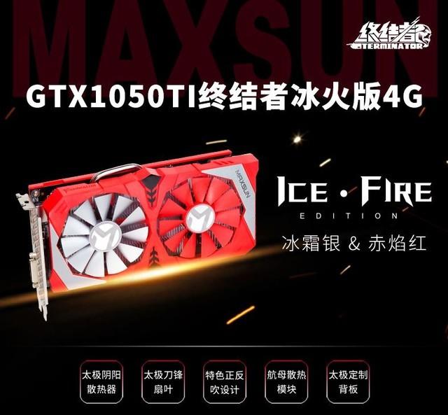铭瑄GTX1050Ti详细体验绝地求生