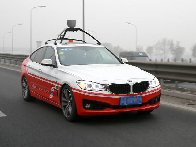 百度无人驾驶汽车上路 最高时速100公里