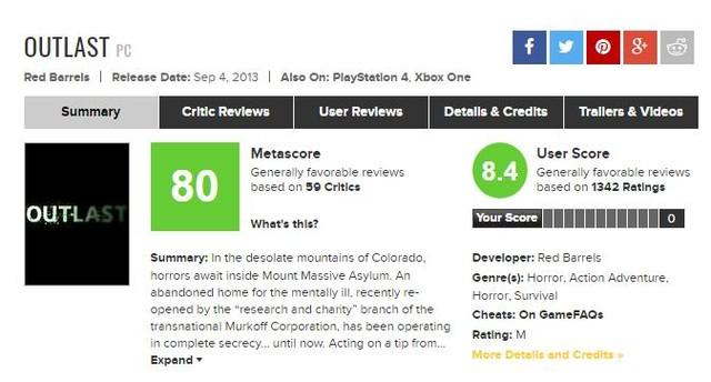 逃生2首批评分出炉 IGN 8.3分GS 7分