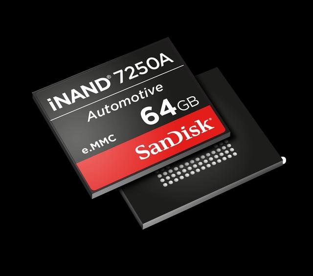 西部数据推出iNAND 7250A嵌入式存储设备