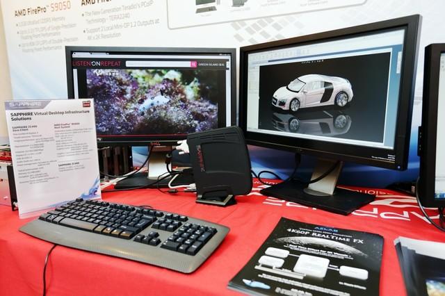 蓝宝石 ZC400 PCoIP 零客户机获得 VMware 方案完全认证