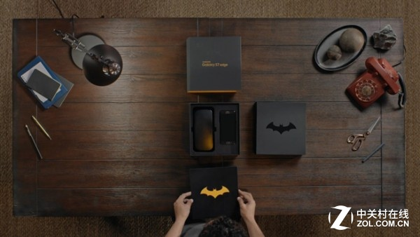 三星S7 Edge蝙蝠侠主题定制真机亮相