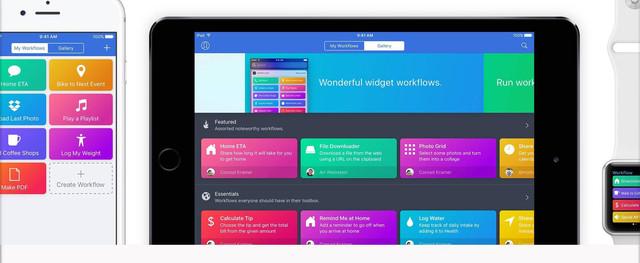 苹果收购Workflow软件 这样玩事倍功半