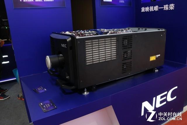 BIRTV2017:NEC展示双色激光高亮放映机