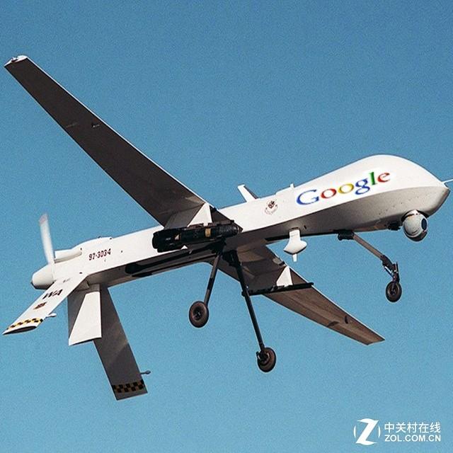 谷歌继网络气球后 再推无人机5G网计划