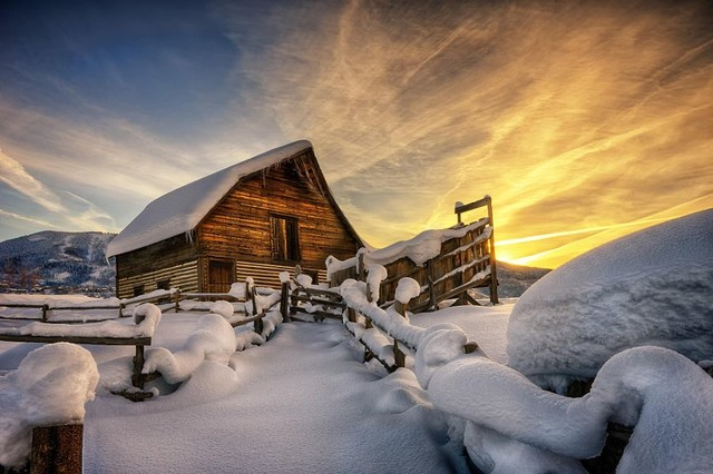 初雪正当时 手把手教你如何拍好雪景照