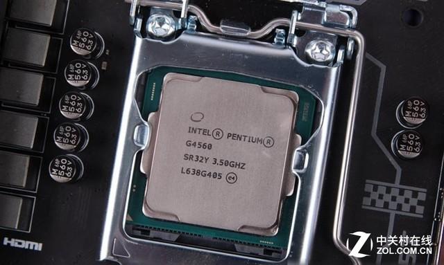 装机特价 INTEL G4560 CPU中文盒459元